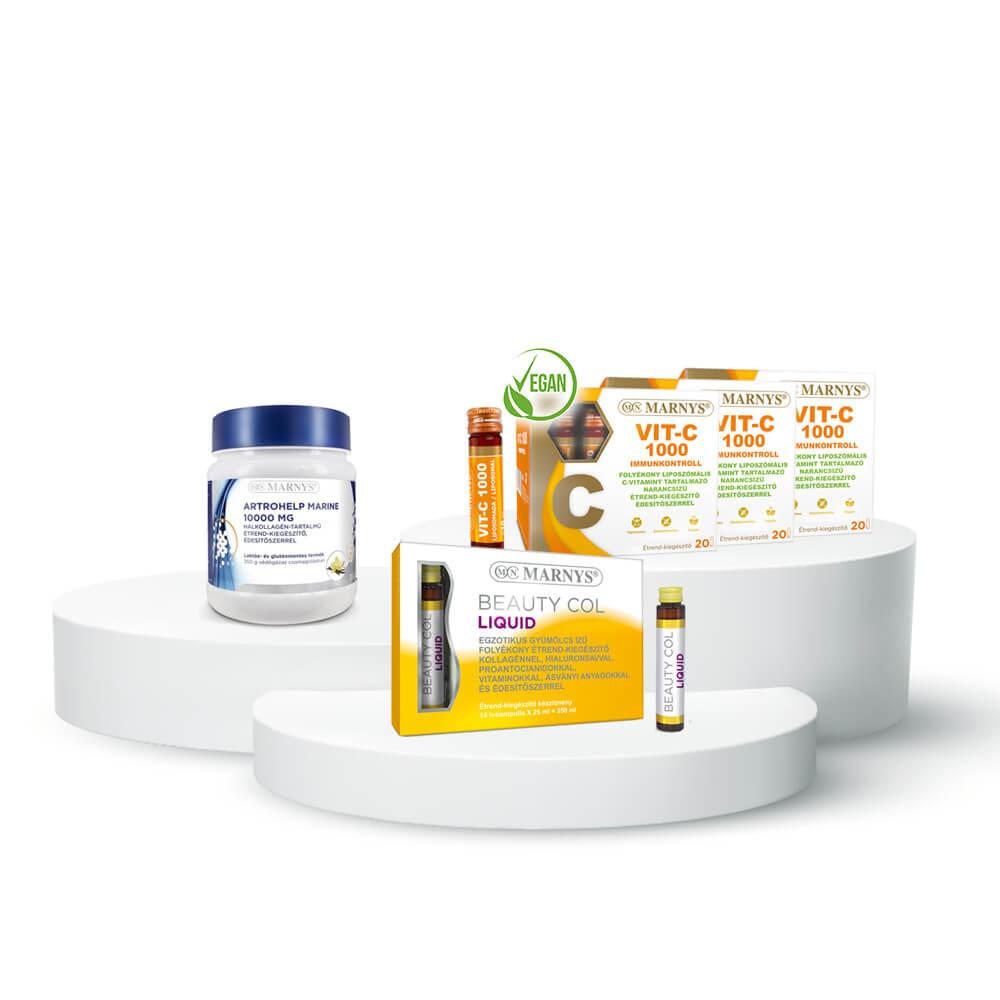 Marnys Artohelp- Vit-C- Beauty Col csomag