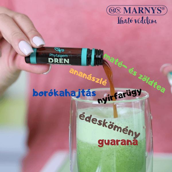 Zöld detox - méregtelenítő juice